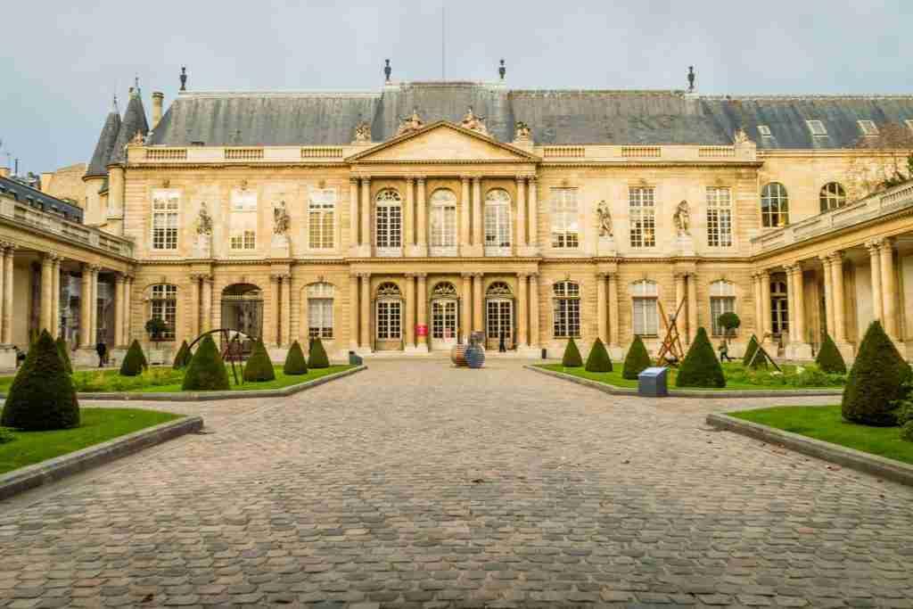 Carnavalet Museum in Paris in France