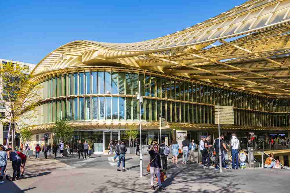 Forum Les Halles in Paris in France