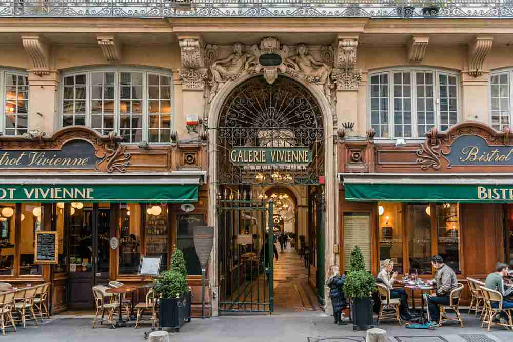 Galerie Vivienne in Paris in France