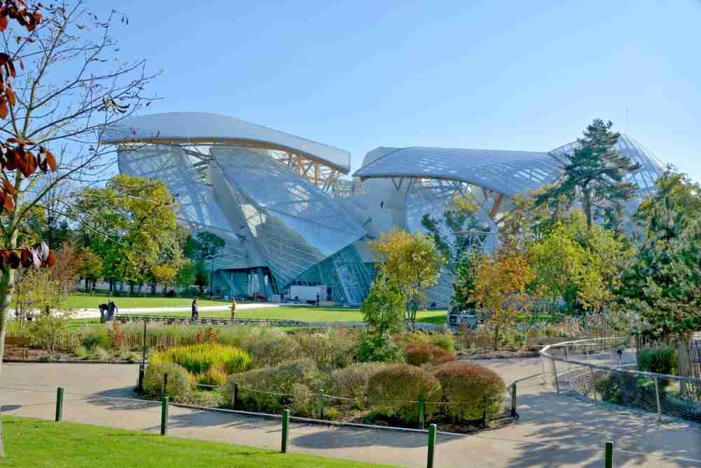 Louis Vuitton Foundation in Paris in France