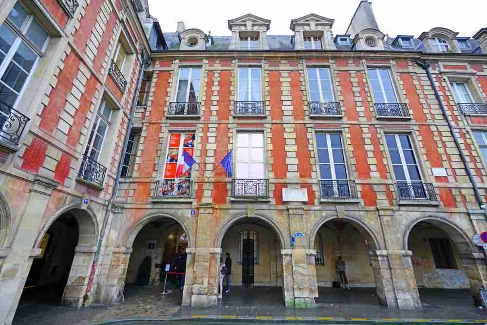 Maison de Victor Hugo in Paris in France