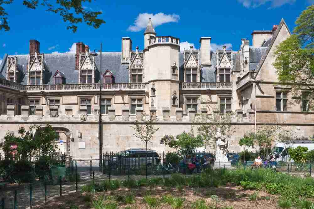 Medieval Museum Cluny in Paris in France