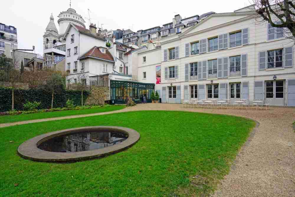 Montmartre Museum in Paris in France