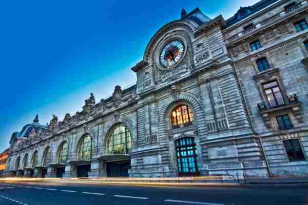 Orsay Museum in Paris in France