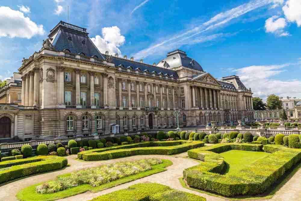 Palais Royal in Paris in France