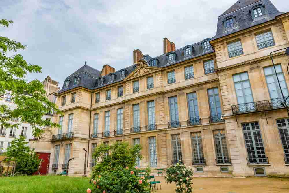 Picasso National Museum in Paris in France