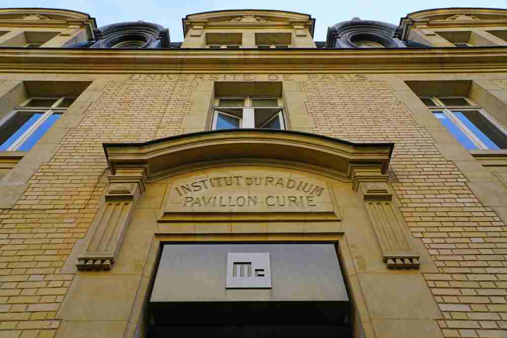 The Curie Museum in Paris in France