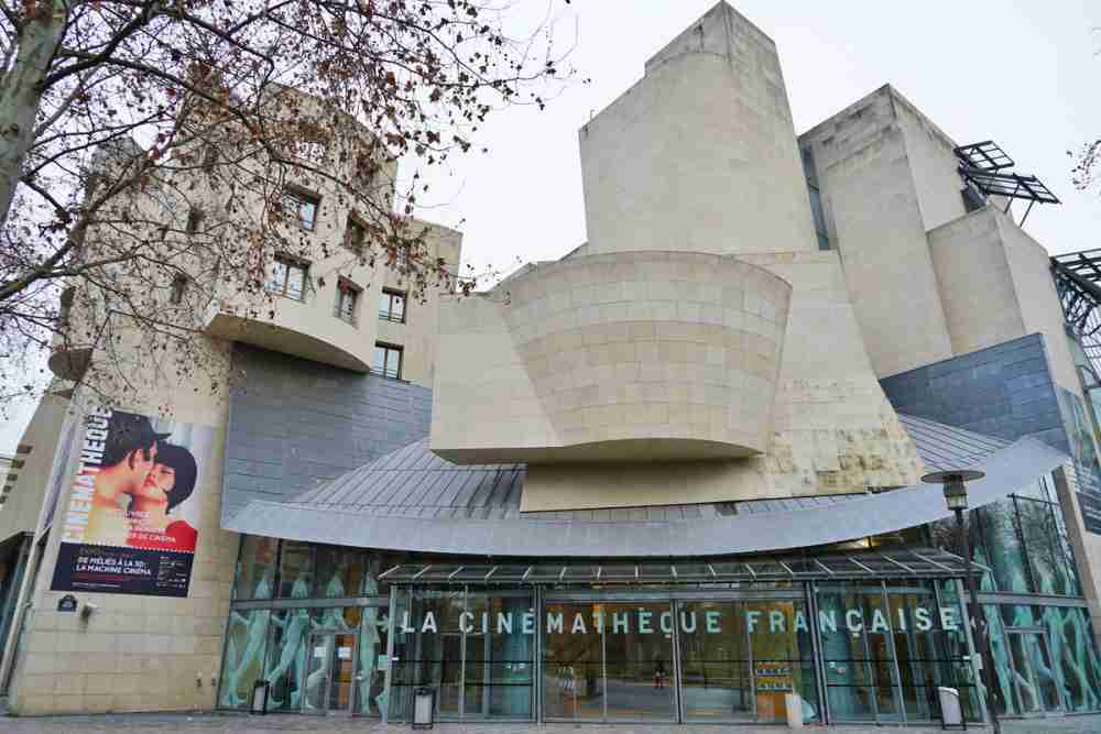 The French Cinematheque in Paris in France