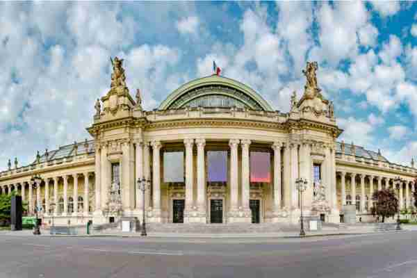 The Grand and Little Palace in Paris in France