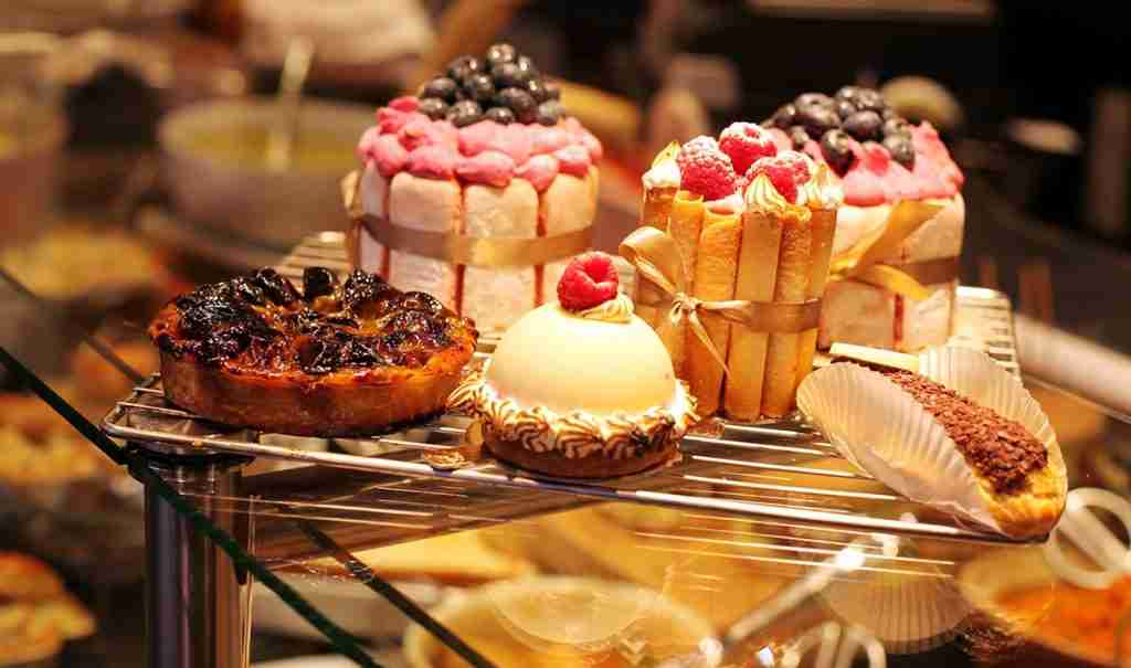 Boulangerie Cake Sweets in Paris France