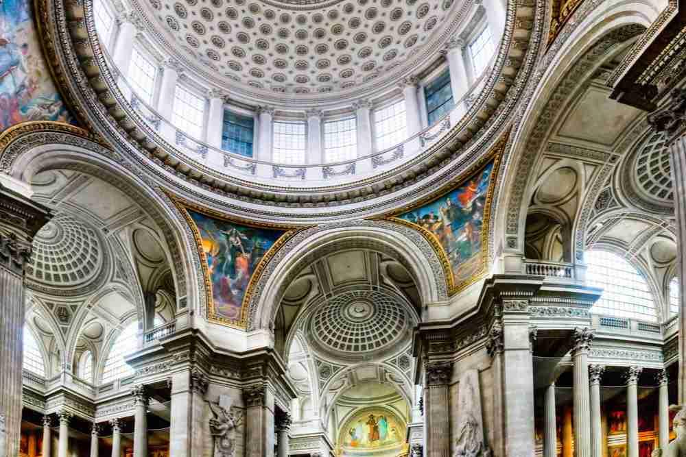 Pantheon of Paris - Inside the monument
