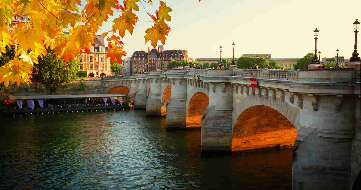 Pont Neuf in Paris in France