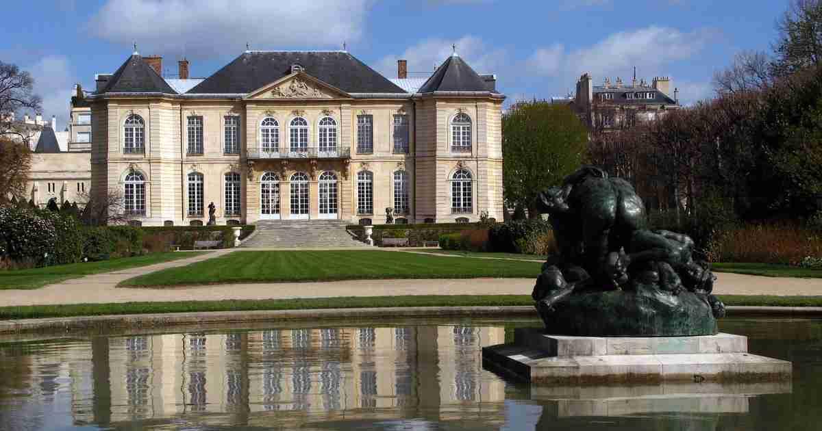 Rodin Museum in Paris in France