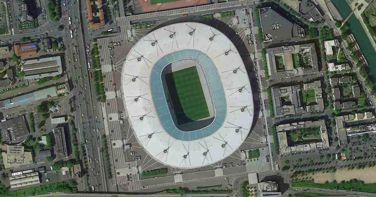 Stade de France in Paris in France