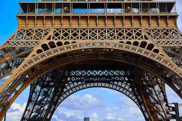 58 Tour Eiffel on the Eiffel Tower