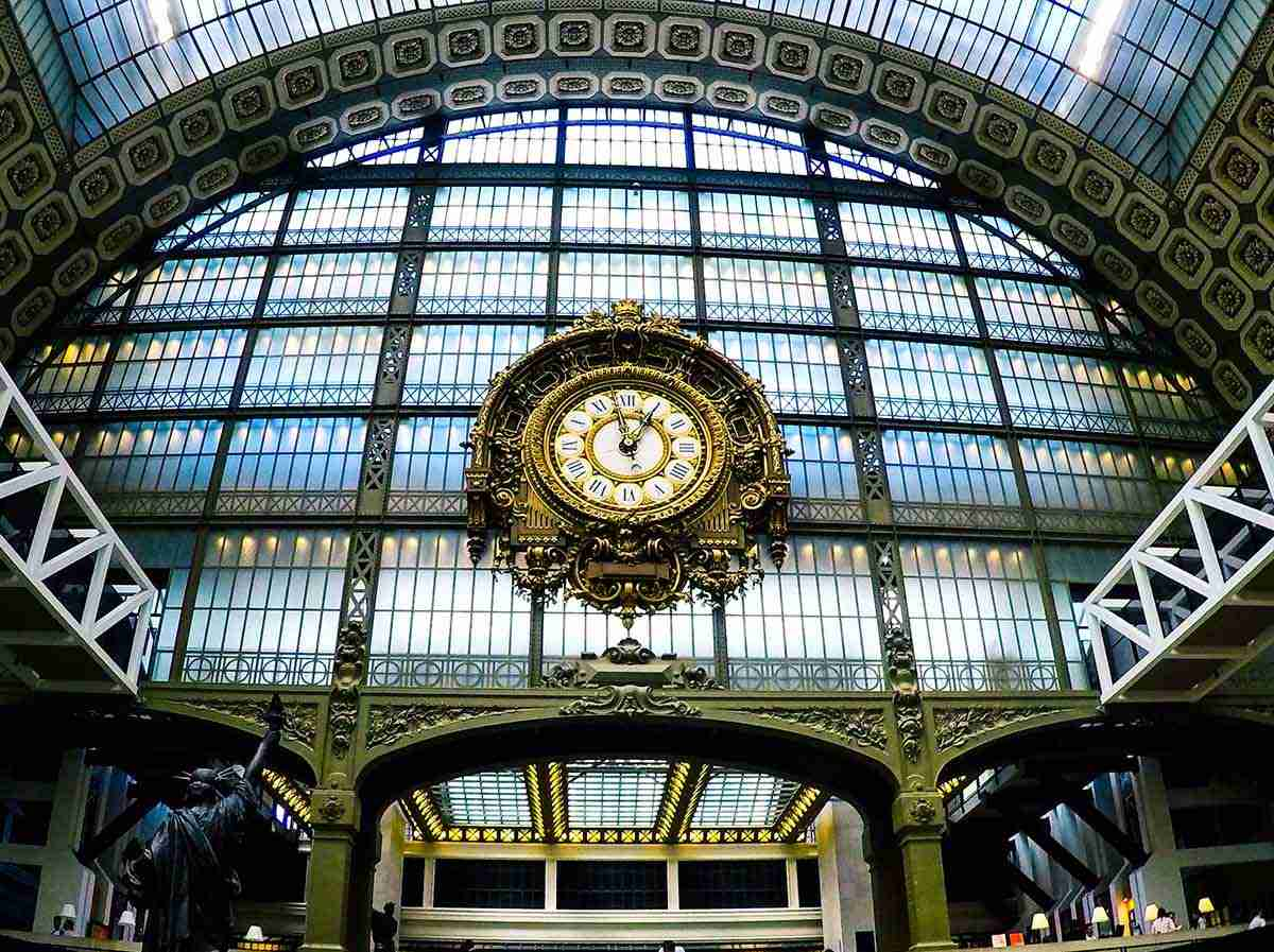 Café Campana at Orsay Museum in Paris in France