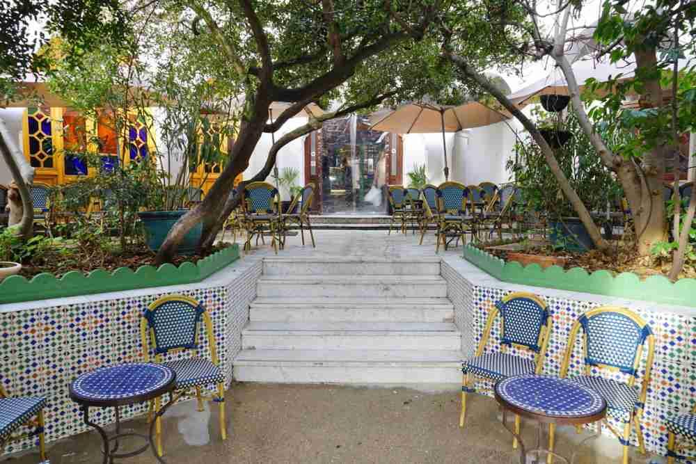 Café Maure in Grand Paris Mosque in Paris in France