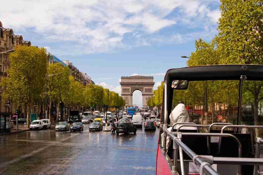 City Tour of Paris in France