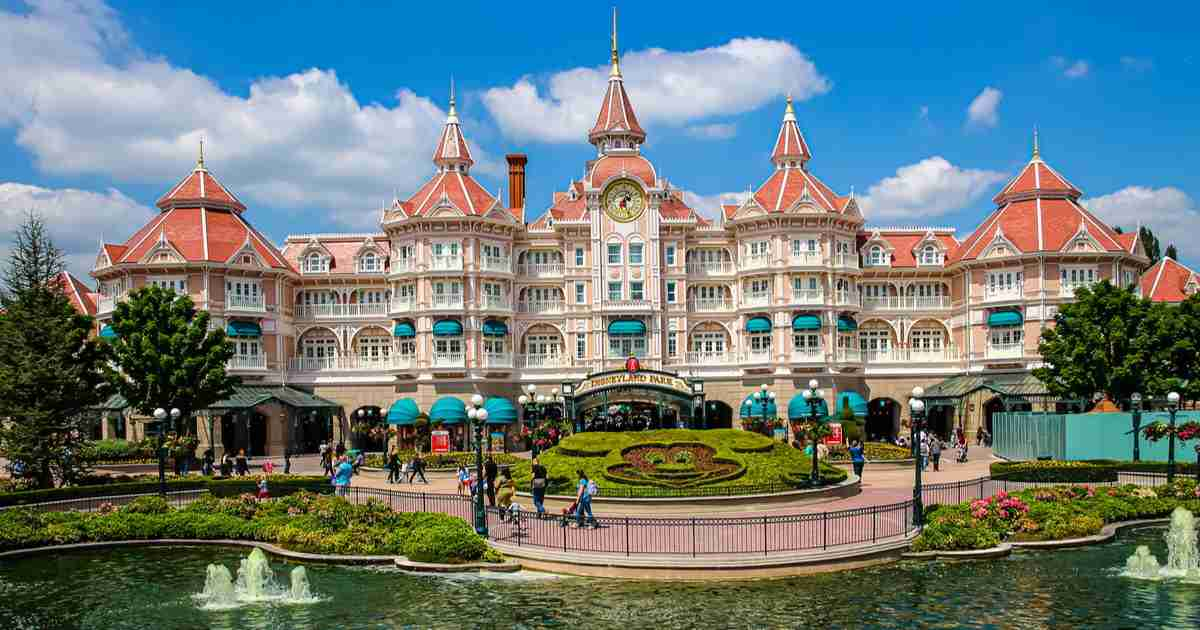 Disneyland Hotels in Paris in France (Editorial)