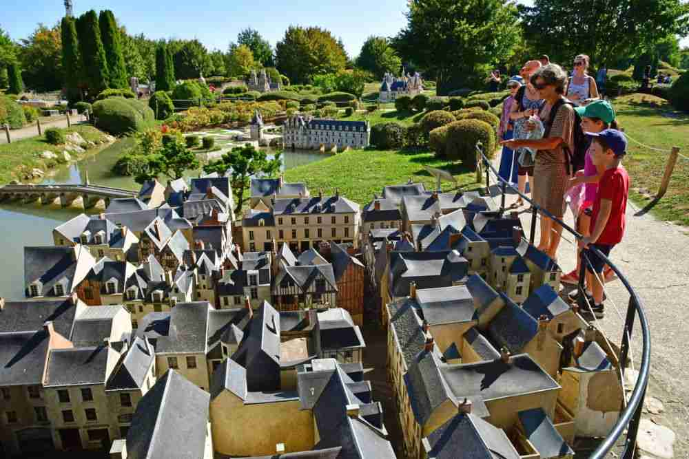 France Miniature in Paris in France