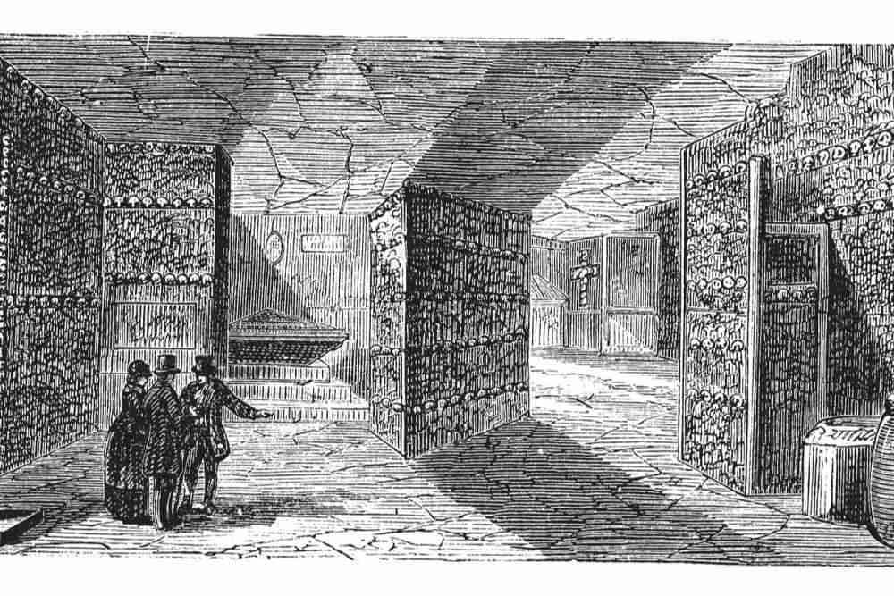 History of the Catacombs in Paris in France