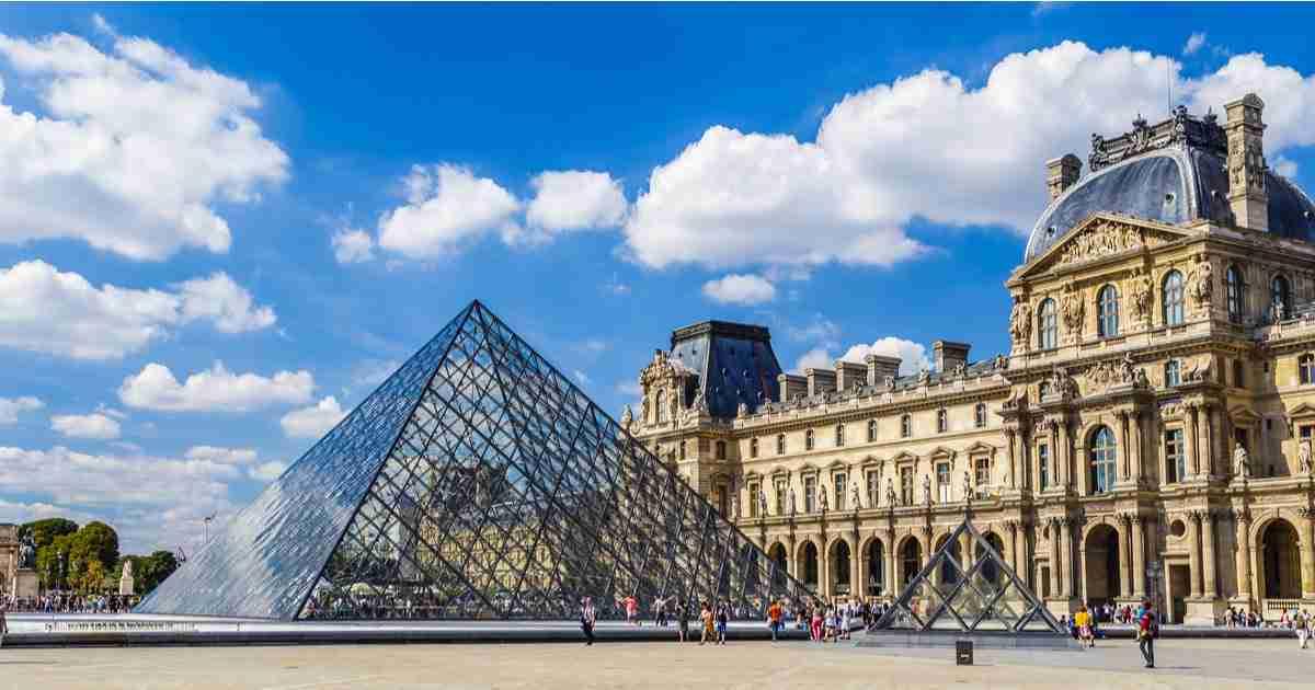 Louvre Museum in Paris in France (Editorial)