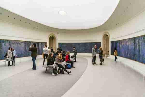 Orangerie Museum in Paris in France (Editorial)