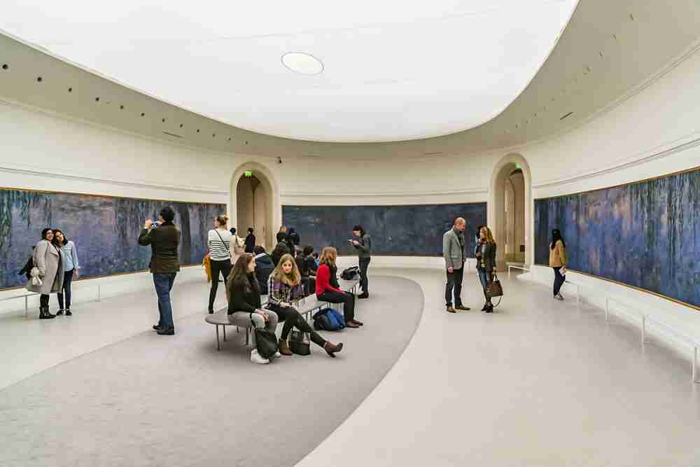 Orangerie Museum in Paris in France