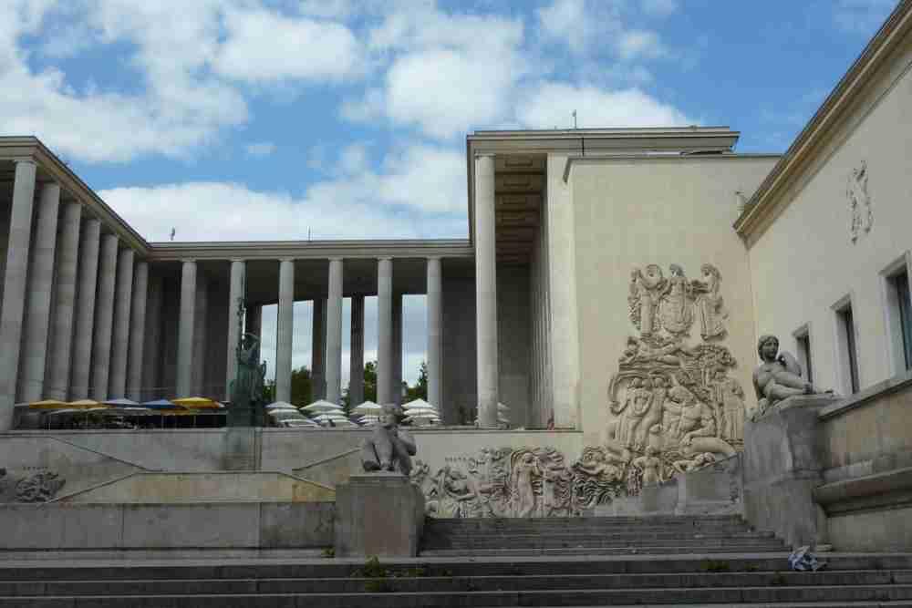 Paris Museum of Modern Art in Paris in France