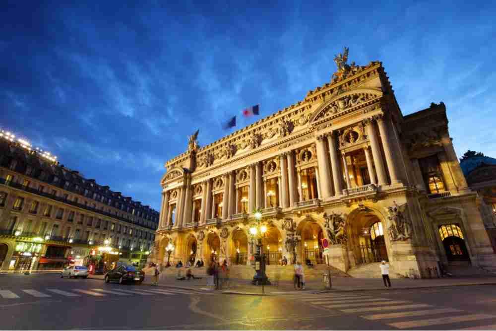 Paris Opera in Paris in France