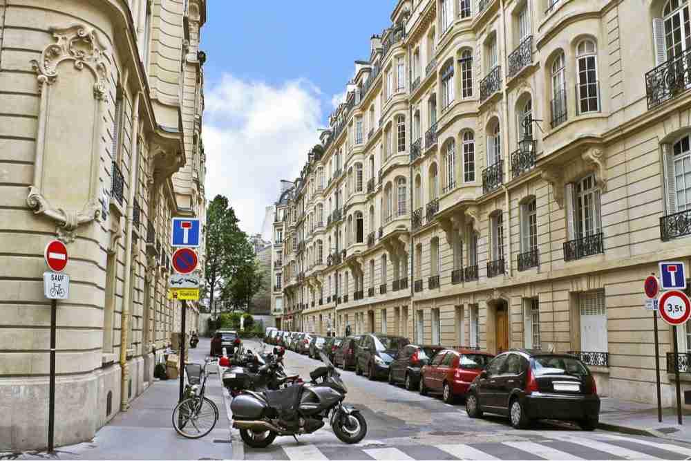 Parking Underground in Paris