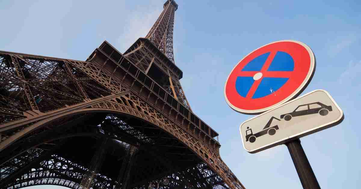 Parkings in Paris in France