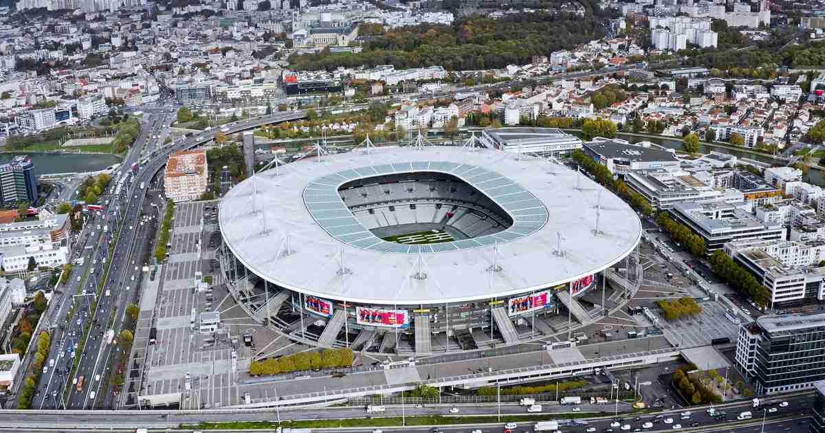 Stade de France in Paris Saint-Denis (Editorial)