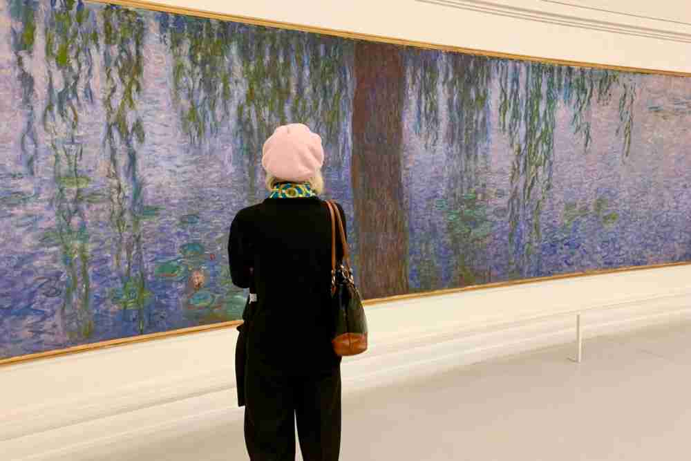 Water Lilies cycle by Claude Monet in Paris in France