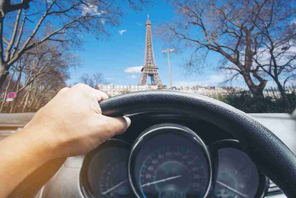 rent a car in Paris in France