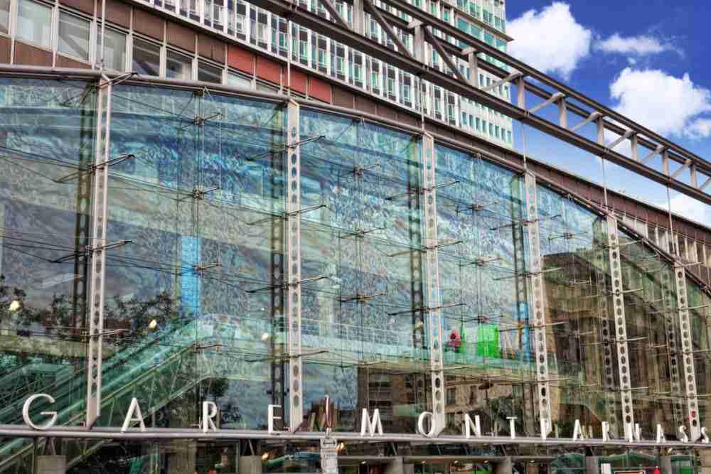 Gare Montparnasse in Paris in France