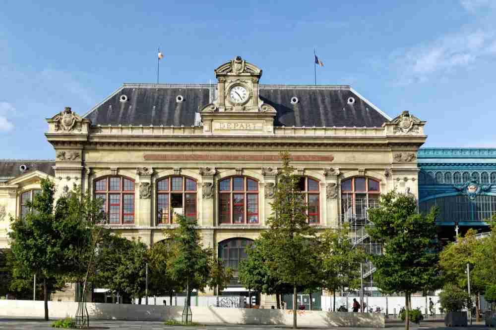 Gare d'Austerlitz in Paris in France